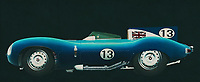 Jaguar Type D 1956<br /> Like its predecessor Jaguar C-Type, the Jaguar D-Type is a factory-built racing car. The Jaguar D-Type had a straight-XK engine design. At the beginning it was a 3.4 engine, later also a 3.8, together with the C-Type a revolutionary car in terms of aerodynamics and monocoque chassis. The D-Type was produced purely for motorsport, but after Jaguar stopped building the car for motorsport, the company offered the unfinished chassis as the public-road version of the JaguarXKSS -<br /> BUY THIS PRINT AT<br /> <br /> FINE ART AMERICA<br /> ENGLISH<br /> https://janke.pixels.com/featured/jaguar-type-d-1956-side-view-jan-keteleer.html<br /> <br /> WADM / OH MY PRINTS<br /> DUTCH / FRENCH / GERMAN<br /> <br /> https://www.werkaandemuur.nl/nl/werk/Jaguar-Type-D-1956-zijaanzicht/589445/134<br /> -