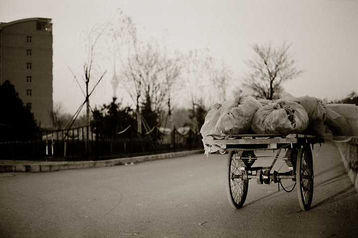 On the outskirts of Beijing, China.