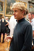 NED DENNY, Tate Britain Summer party. Tate. Millbank. 27 June 2011. <br /> <br />  , -DO NOT ARCHIVE-© Copyright Photograph by Dafydd Jones. 248 Clapham Rd. London SW9 0PZ. Tel 0207 820 0771. www.dafjones.com.