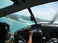 flying a seaplane, view from a seaplane, Whitsunday Islands from a seaplane.