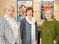 Pat Wallace, Dolores Daly, and Denise O'Sullivan from Charleville at Frank O'Sullivan's Exhibition of new work opening at the Town Hall Theatre Galway which runs till Wed the 15th of June . Photo:Andrew Downes, xposure