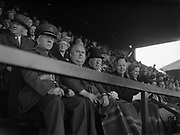 08/05/1955<br /> 05/08/1955<br /> 08 May 1955<br /> Pageant of St. Patrick opens the An Tostal festival at Croke Park, Dublin. President Sean T. O'Kelly and other dignitaries watching the performance.