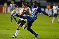 20120509: SAO PAULO, BRASIL - Copa Libertadores de America 2011/2012: Corinthians vs Emelec.<br /> In photo: Alex and Achilier.<br /> PHOTO: CITYFILES