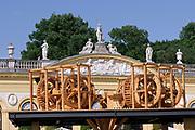 Kassel, Germany. Opening days of documenta14.<br /> Orangerie.<br /> Antonio Vega Macotela: &quot;M&uuml;hle des Blutes (Mill of Blood)&quot;