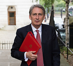 AUG 13 2014 Philip Hammond Foreign Secretary cobra meeting