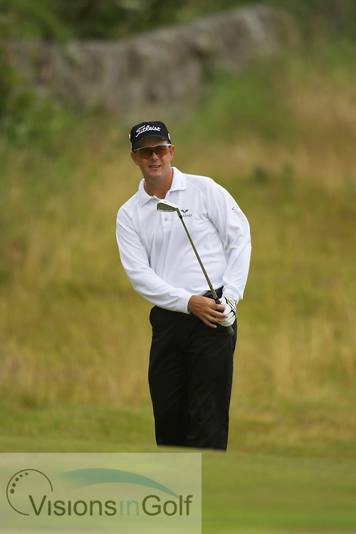 040714 Royal Troon GC, Scotland . Picture Mark Newcombe, The Open Championship 2004<br />