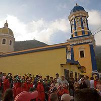 Diablos de Yare en la calle, El Cobre, Estado Tachira, Venezuela.