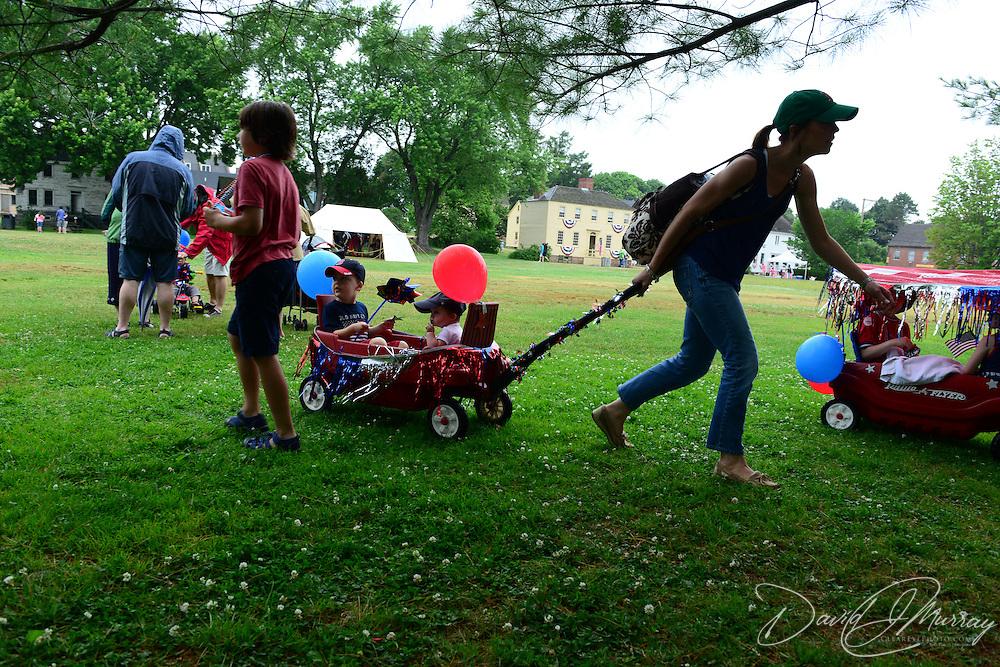 July 4 festivities at Strawbery Banke, 2014