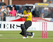 Gloucestershire's Michael Klinger ducks under a bouncer <br /> <br /> Photographer Simon King/Replay Images<br /> <br /> Vitality Blast T20 - Round 1 - Somerset v Gloucestershire - Friday 6th July 2018 - Cooper Associates County Ground - Taunton<br /> <br /> World Copyright © Replay Images . All rights reserved. info@replayimages.co.uk - http://replayimages.co.uk
