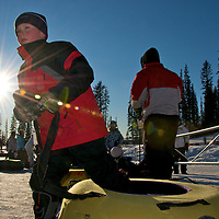 i took this one just as i sat down into my tube to be taken up the lift...  fill flash stands no chance against the sun!