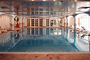 Switzerland, Indoor hotel swimming pool