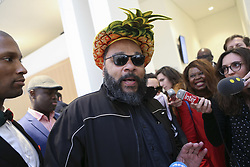 March 26, 2019 - Paris, France - Dieudonne et son avocate (Credit Image: © Panoramic via ZUMA Press)