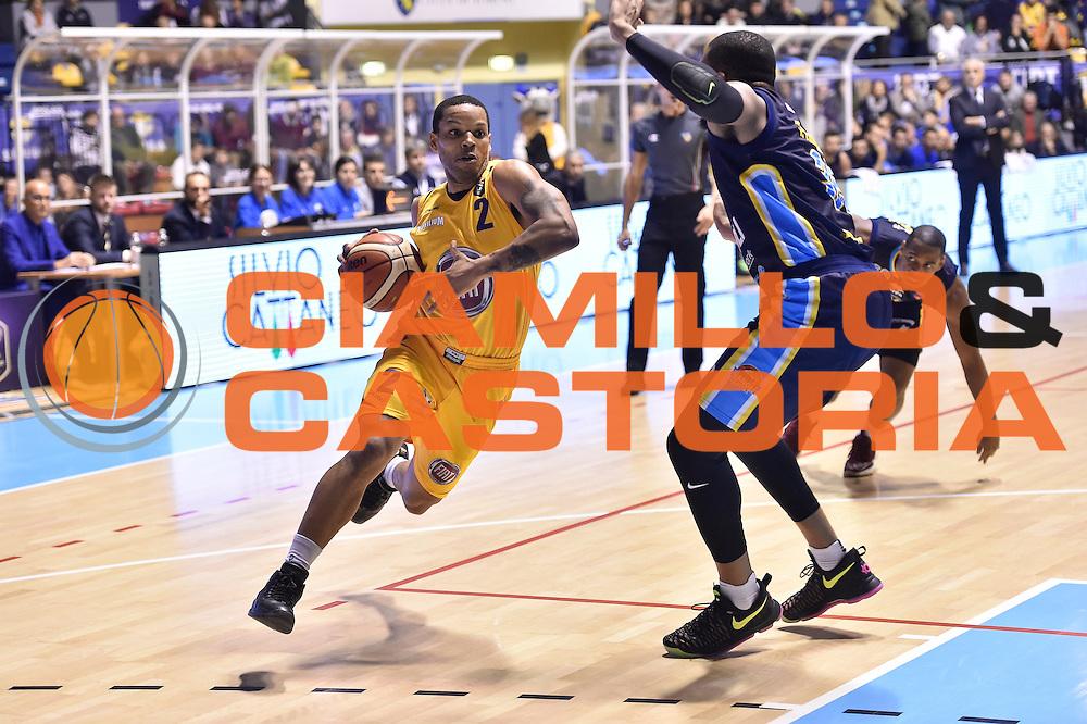 Wright Chris<br /> FIAT Torino - Vagoli Cremona<br /> Lega Basket Serie A 2016-2017<br /> Torino 23/10/2016<br /> Foto Ciamillo-Castoria