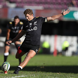 DURBAN, SOUTH AFRICA - MAY 19: Robert du Preez of the Cell C Sharks during the Super Rugby match between Cell C Sharks and Chiefs at Jonsson Kings Park on May 19, 2018 in Durban, South Africa. (Photo by Steve Haag/Gallo Images)