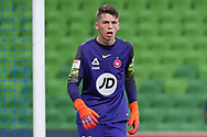 MELBOURNE, VIC - JANUARY 22: Western Sydney Wanderers goalkeeper Nick Suman (40) watches on at the Hyundai A-League Round 15 soccer match between Melbourne City FC and Western Sydney Wanderers at AAMI Park in VIC, Australia 22 January 2019. Image by (Speed Media/Icon Sportswire)
