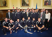 Dundee squad with Lord Provost Bob Duncan - Dundee FC civic reception at Dundee City Chambers<br /> <br />  - &copy; David Young - www.davidyoungphoto.co.uk - email: davidyoungphoto@gmail.com