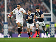 Luther Burrell of England in action during the RBS 6 Nations match at Twickenham Stadium, Twickenham<br /> Picture by Andrew Tobin/Focus Images Ltd +44 7710 761829<br /> 14/03/2015