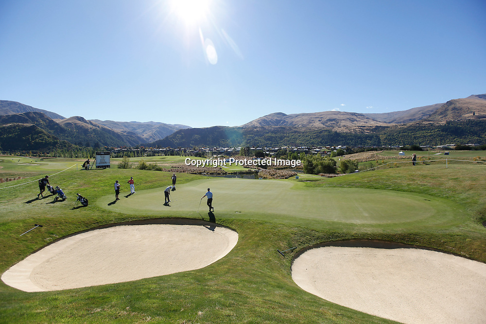 A general view during round one of the New Zealand PGA championships at The Hills, Arrowtown, New Zealand. Thursday, 29 March 2012. Photo: Michael Thomas/ photosport.co.nz