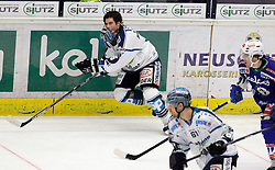 22.01.2015, Stadthalle, Villach, AUT, EBEL, EC VSV vs EHC LIWEST Black Wings Linz, 41. Runde, im Bild Franklin MacDonald (Linz) // during the Erste Bank Icehockey League 41th round match between EC VSV vs EHC LIWEST Black Wings Linz at the City Hall in Villach, Austria on 2015/01/22, EXPA Pictures © 2015, PhotoCredit: EXPA/ Oskar Hoeher
