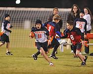 Oxford Park Commission flag football at FNC Park in Oxford, Miss. on Monday, November 15, 2010.