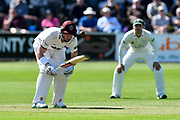 Matt Renshaw of Somerset batting during the Specsavers County Champ Div 1 match between Somerset County Cricket Club and Worcestershire County Cricket Club at the Cooper Associates County Ground, Taunton, United Kingdom on 20 April 2018. Picture by Graham Hunt.