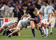Rugby World Cup, France v Argentina, 19 October 2007. David Skrela at the Parc des Princes, Paris, France. Friday 19 October 2007. Photo: Ron Gaunt/Sportzpics.net