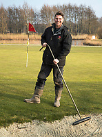 ALKMAAR - greenkeeper Sluispolder. Dave Muis. COPYRIGHT KOEN SUYK