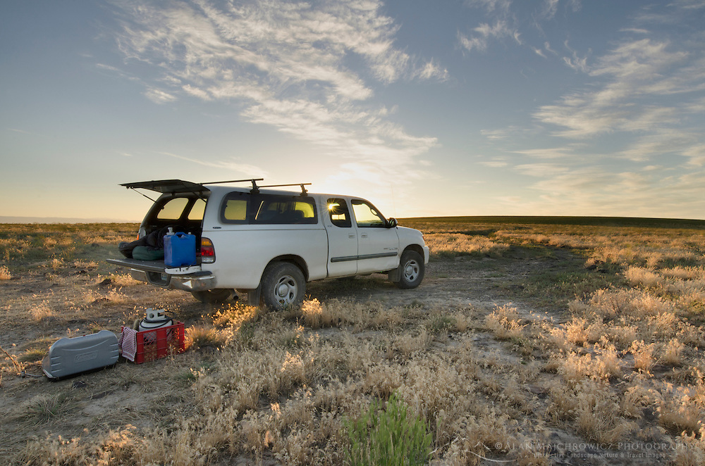 Vehicle camping in SW Idaho