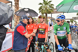 March 1, 2019 - Emirati Arabi Uniti - Foto LaPresse - Massimo Paolone.1 Marzo 2019 Emirati Arabi Uniti.Sport Ciclismo.UAE Tour 2019 - Tappa 6 - da Ajman a Jebel Jais - 180 km.Nella foto: Saeed Hareb con Primoz Roglic (Team Jumbo - Visma) ..Photo LaPresse - Massimo Paolone.March 1, 2019 United Arab Emirates.Sport Cycling.UAE Tour 2019 - Stage 6 - Ajman to Jebel Jais - 111,8 miles.In the pic: Saeed Hareb with Primoz Roglic  (Credit Image: © Massimo Paolone/Lapresse via ZUMA Press)