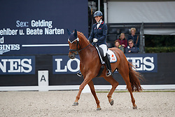 Vasaryova Hana, CZE, Santos Dumont<br /> Longines FEI/WBFSH World Breeding Dressage Championships for Young Horses - Ermelo 2017<br /> © Hippo Foto - Dirk Caremans<br /> 05/08/2017