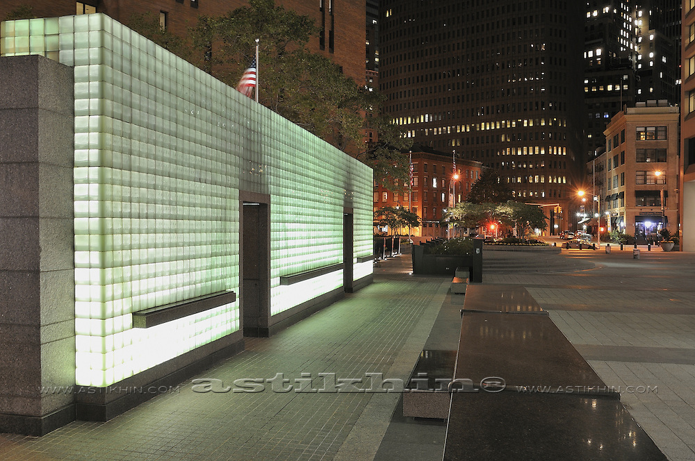 Vietnam Veterans Memorial in Manhattan, NYC.