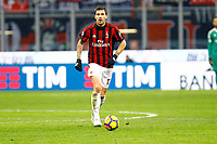 Alessio Romagnoli  - Milan - Tim Cup - Ottavi di Finale - Milan-Verona