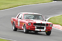 HSCC Gold Cup Oulton Park, Cheshire, United Kingdom.  28th-29th August 2011.  Race 11 HSCC ByBox Historic Touring Cars.  9 David Betts - Ford Mustang Notchback. World Copyright: Peter Taylor/PSP. Copy of publication required for printed pictures. Every used picture is fee-liable.