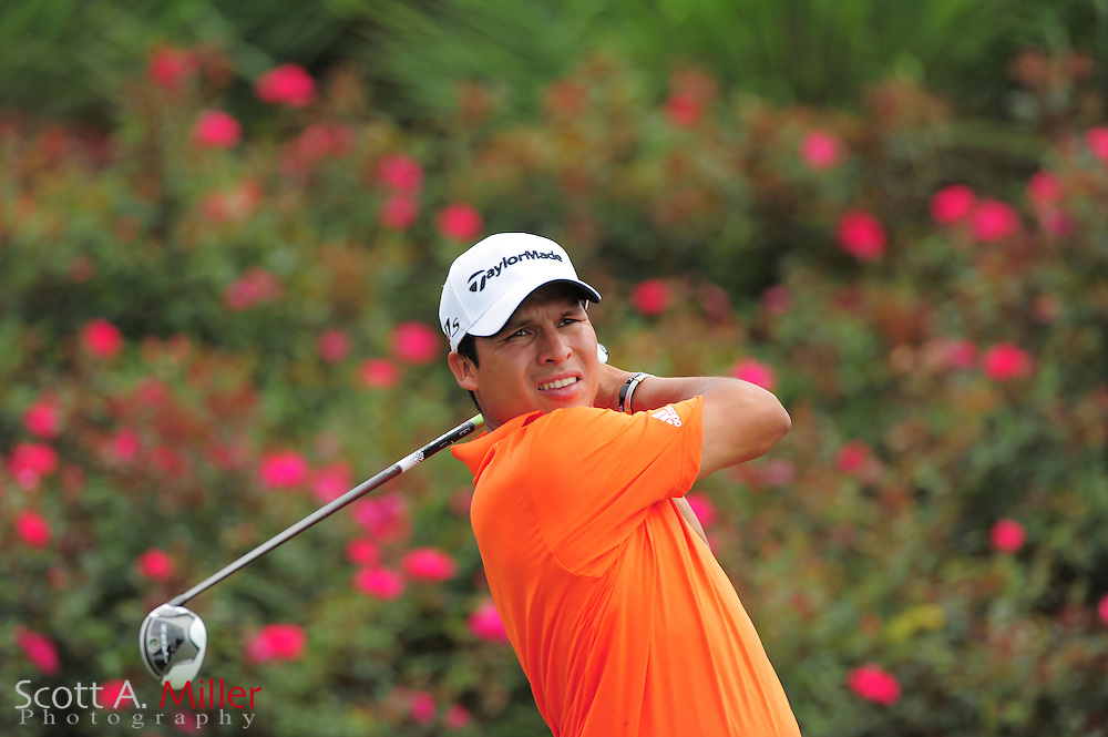 Andres Romero during a practice round prior to the Players Championship at the TPC Sawgrass on May 9, 2012 in Ponte Vedra, Fla. ..©2012 Scott A. Miller.