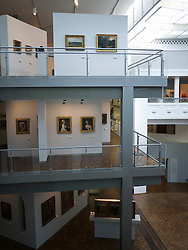 Interior of Museum für Kunst und Kulturgeschichte or Museum of Art and Cultural History in Dortmund Germany