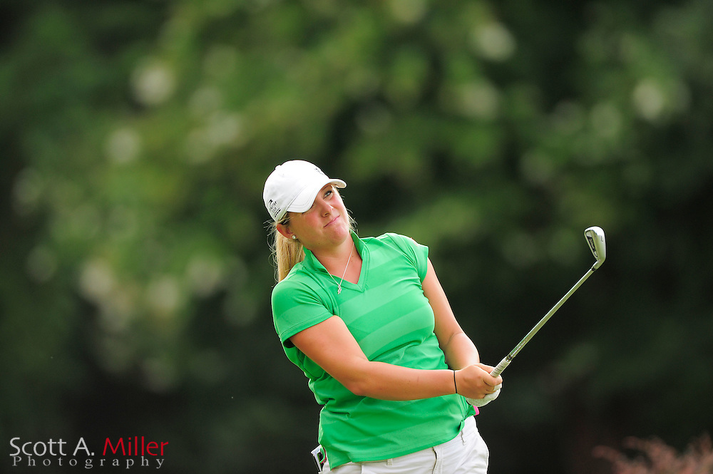 Cara Freeman during the Symetra Tour's Eagle Classic at the Richmond Country Club on August 18, 2012 in Richmond, Va...©2012 Scott A. Miller.