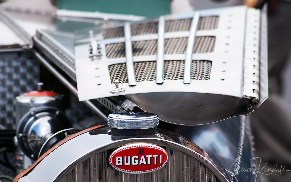 A 1935 Bugatti Type 57S driven by Jim Hull at the Rolex Monterey Motorsports Reunion 2013