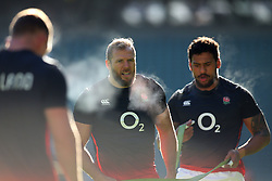 James Haskell of England during an open training session at Twickenham - Mandatory by-line: Robbie Stephenson/JMP - 16/02/2018 - RUGBY - Twickenham Stadium - London, England - England Rugby Open Training Session