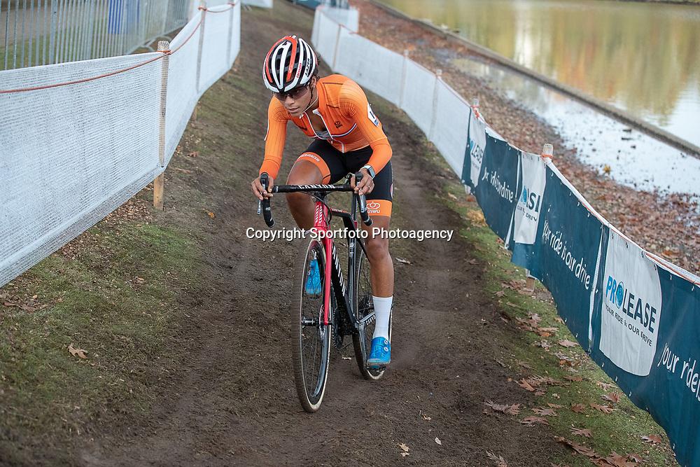 04-11-2018: Wielrennen: EK veldrijden: Rosmalen <br />Ceylin del Carmen