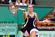 Paris, France. May 27th 2009. .Roland Garros - Tennis French Open. 1st Round..Russian player Nadia Petrova against Maria Sharapova..