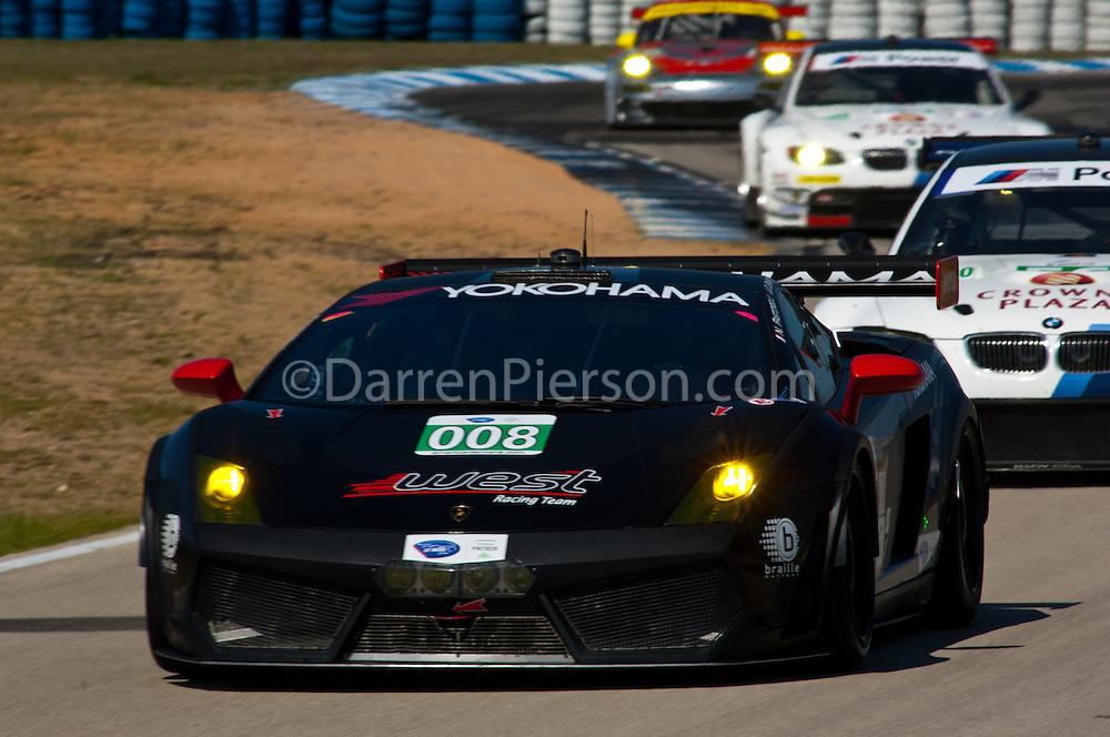 #008 West Yokohama Racing Lamborghini Gallardo LP 560-4: Nicky Pastorelli, Dominik Schwager