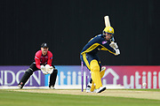 Tom Alsop of Hampshire batting during the Royal London One Day Cup match between Hampshire County Cricket Club and Sussex County Cricket Club at the Ageas Bowl, Southampton, United Kingdom on 2 May 2019.