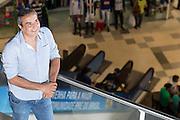 Belo Horizonte_MG, Brasil.<br /> <br /> Elias Tergilene, presidiente da rede de shoppings UAI e socio da Doimo moveis. <br /> <br /> Elias Tergilene, president of  UAI shopping and socio of  the furniture Doimo.<br /> <br /> Foto: RODRIGO LIMA / NITRO