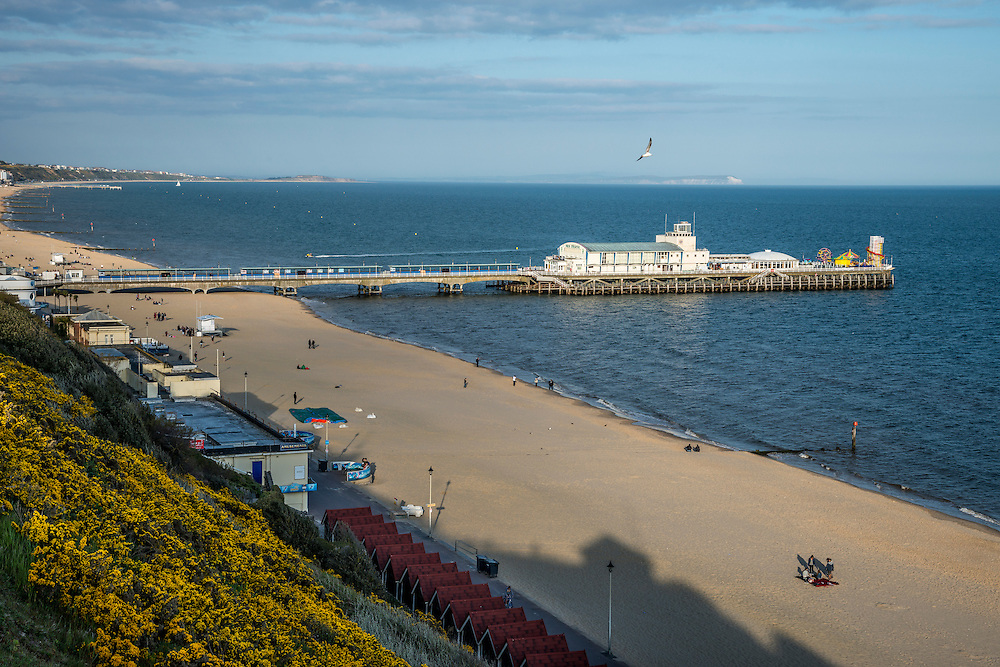 West side of the Bournemouth Pier United Kingdom