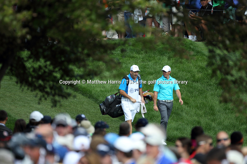 Rory MCILROY (NIR) during fourth round US PGA Championship 2013,Oak Hill CC,