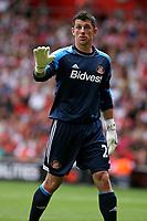 Football - 2013 / 2014 Premier League  - Southampton vs. Sunderland<br /> Keiren Westwood of Sunderland<br /> <br /> Colorsport/Shaun Boggust