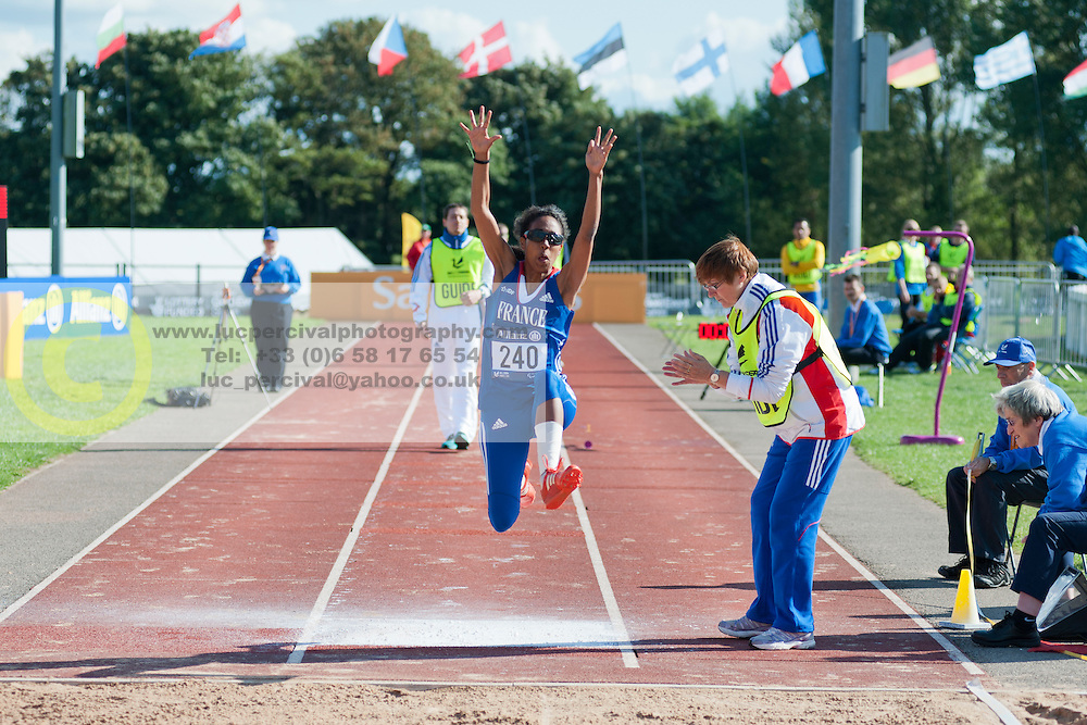 Elvina Vidot, 2014 IPC European Athletics Championships, Swansea, Wales, United Kingdom