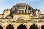 Suleymaniye Mosque in Istanbul, Republic of Turkey