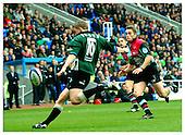 London Irish v Harlequins. Season 2001-2002