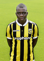 Marvelous Nakamba during the team presentation of Vitesse Arnhem on July 6, 2015 at the Papendal training complex in Arnhem, The Netherlands.